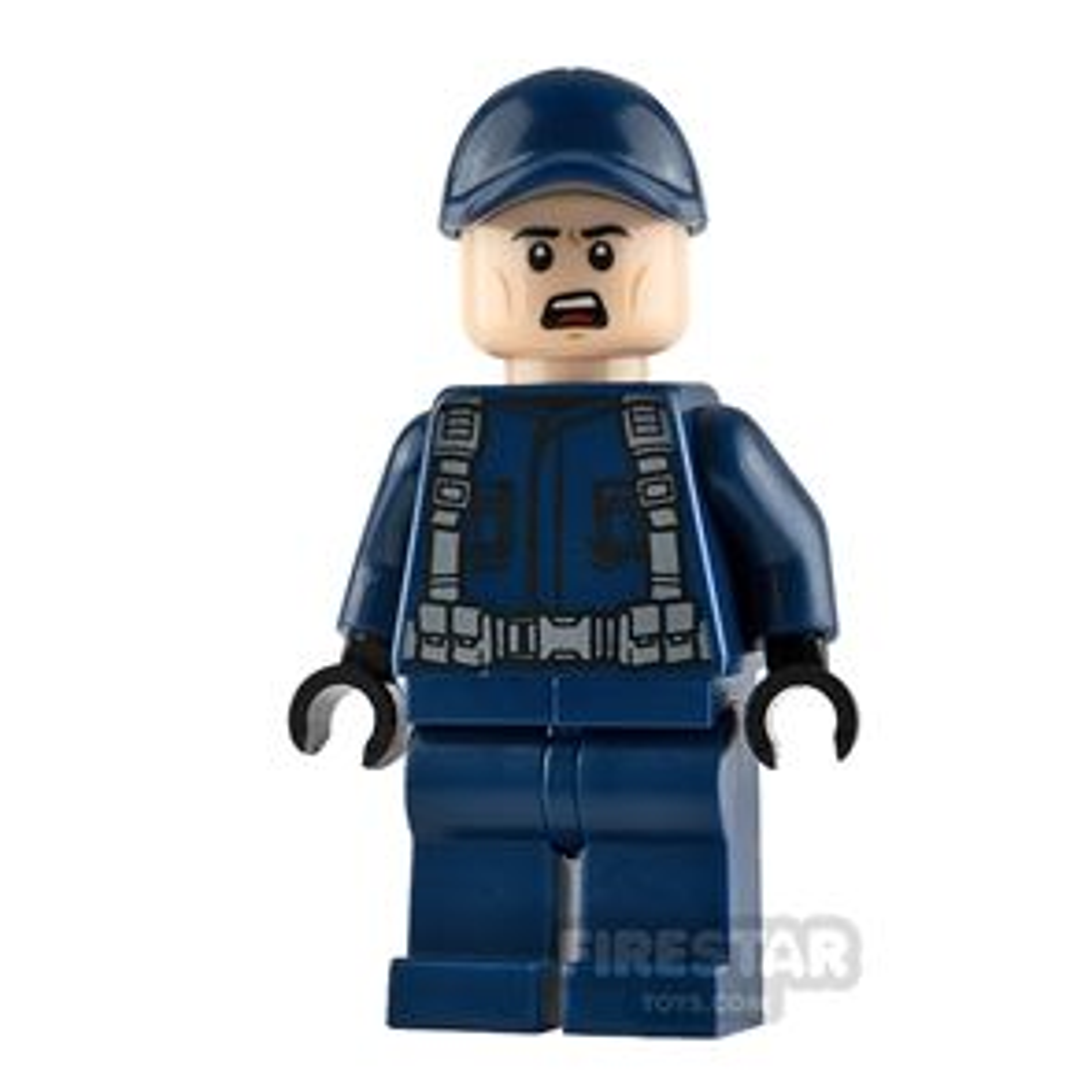 LEGO Jurassic World Figure Guard Scowl