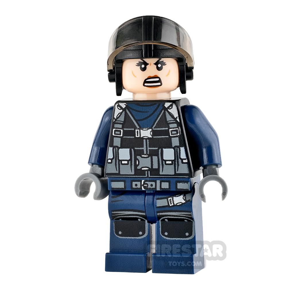 LEGO Jurassic World Figure - Guard - Female with Aviator Cap