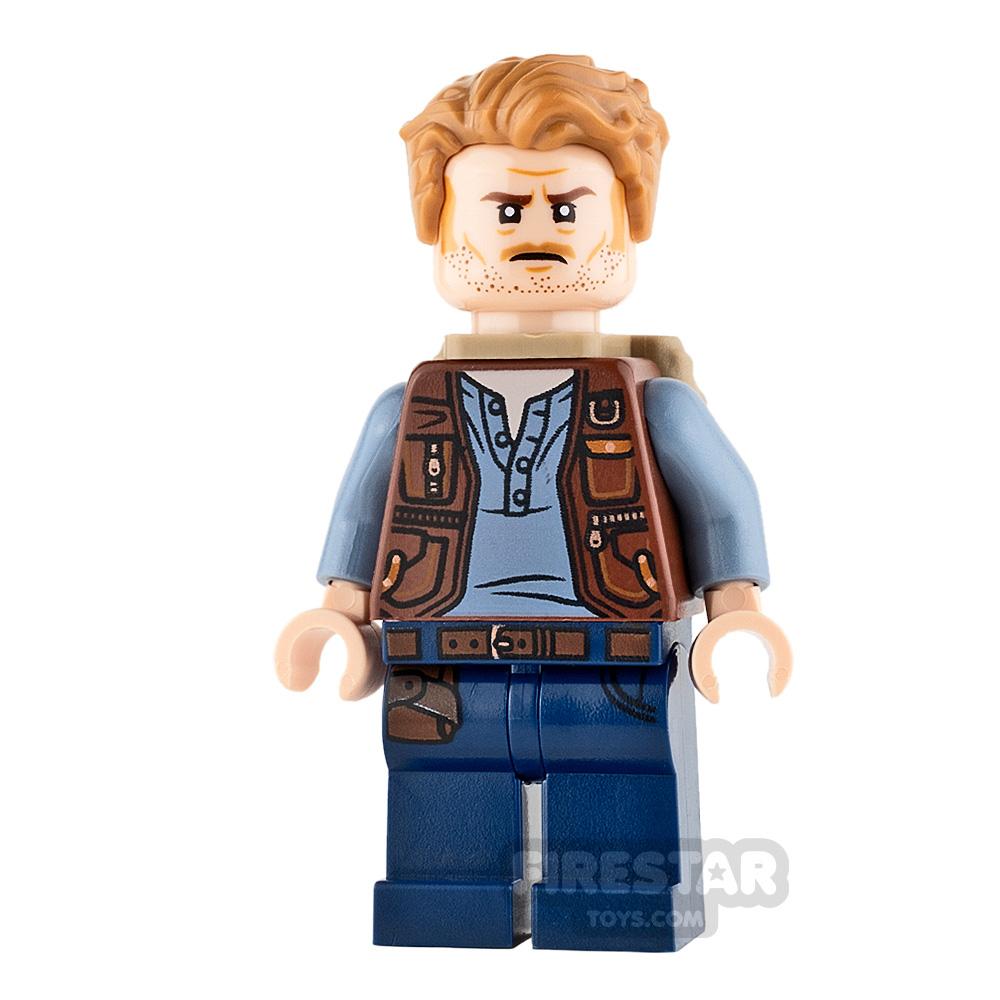 LEGO Jurassic World Figure - Owen Grady - Backpack