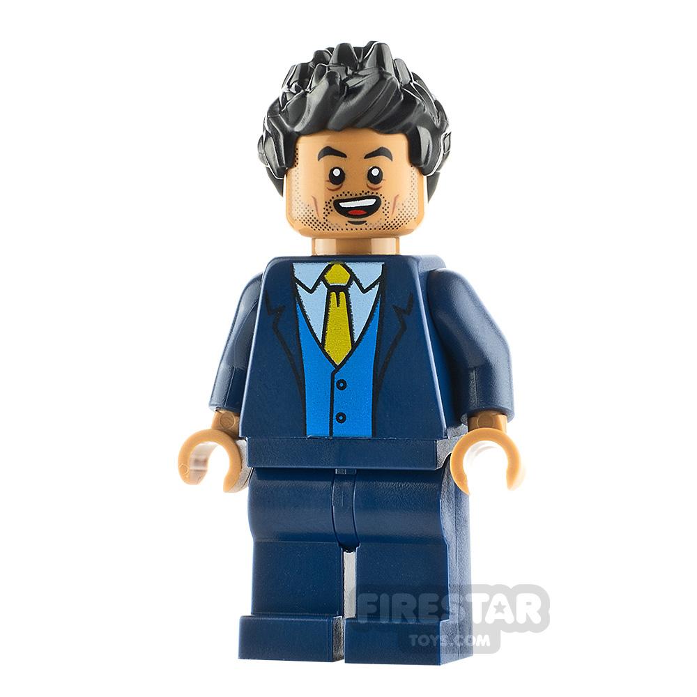 LEGO Jurassic World Figure Simon Masrani Dark Blue Suit