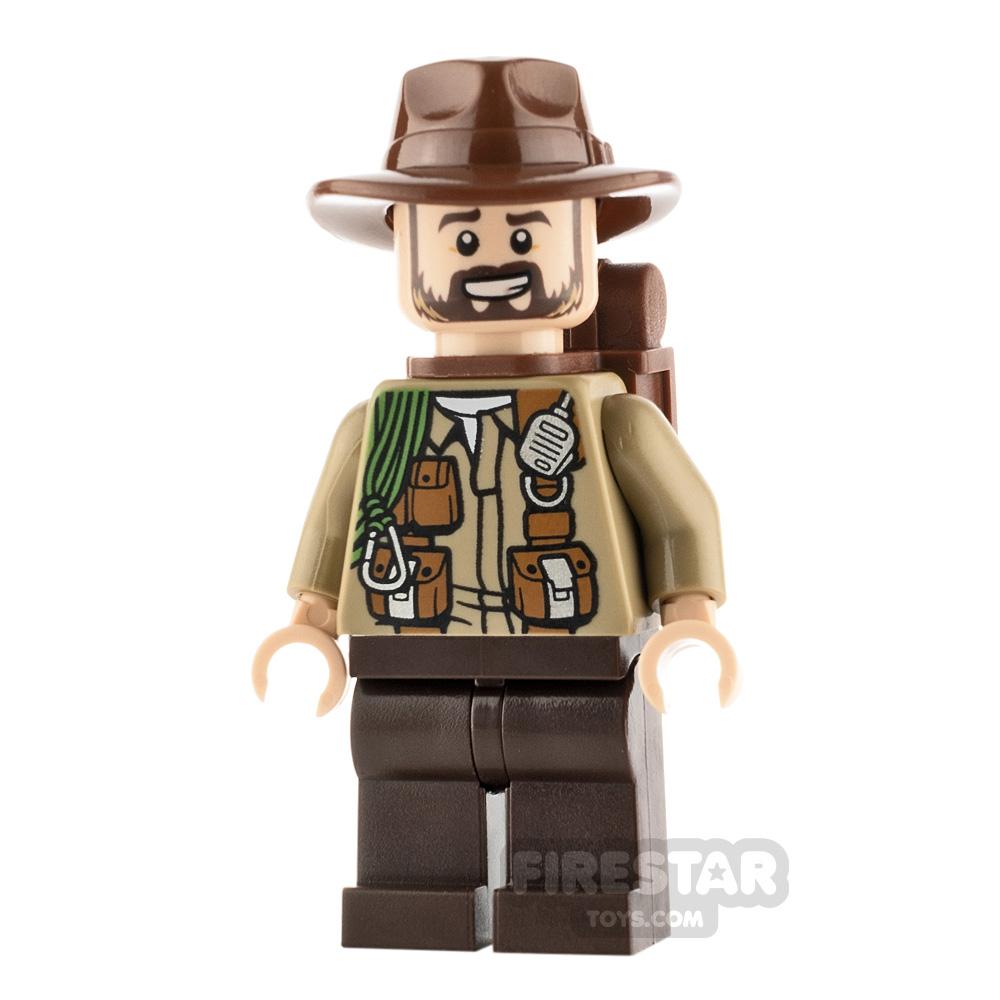 LEGO Jurassic World Figure Sinjin Prescott