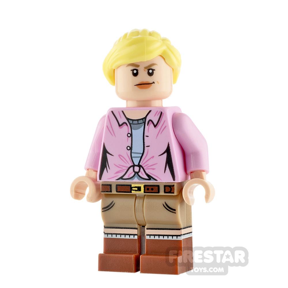 LEGO Jurassic World Figure Ellie Sattler Ponytail