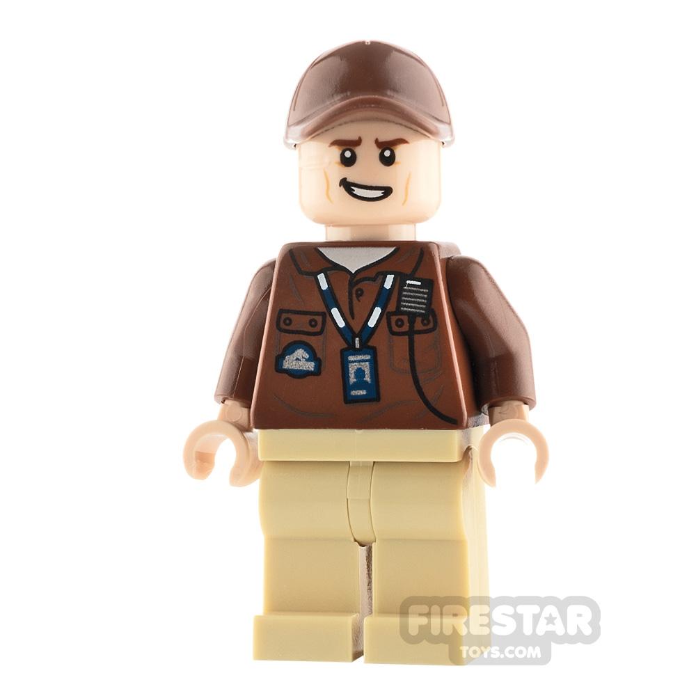 LEGO Jurassic World Figure Park Worker