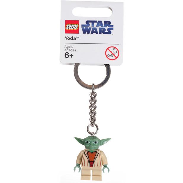 LEGO Key Chain - Star Wars - Yoda White Hair