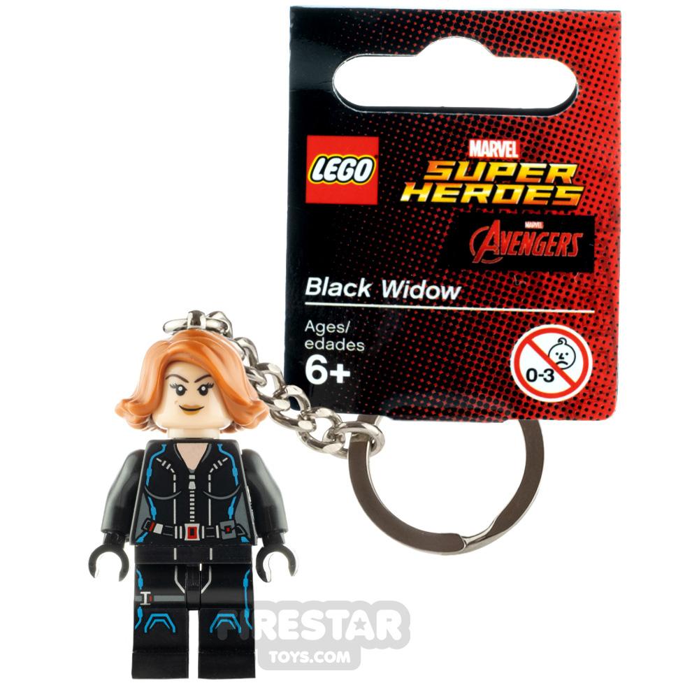 LEGO Key Chain Super Heroes Black Widow