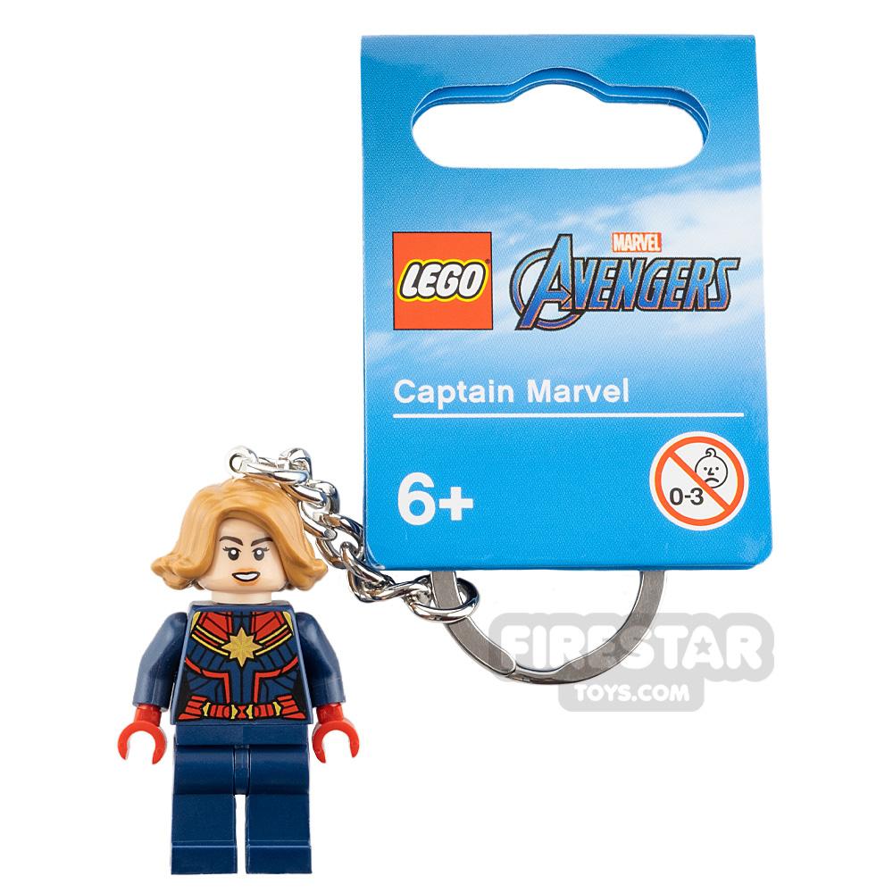 LEGO Key Chain Super Heroes Captain Marvel