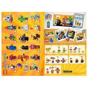 LEGO - Minifigures Series 18 Collectable Leaflet