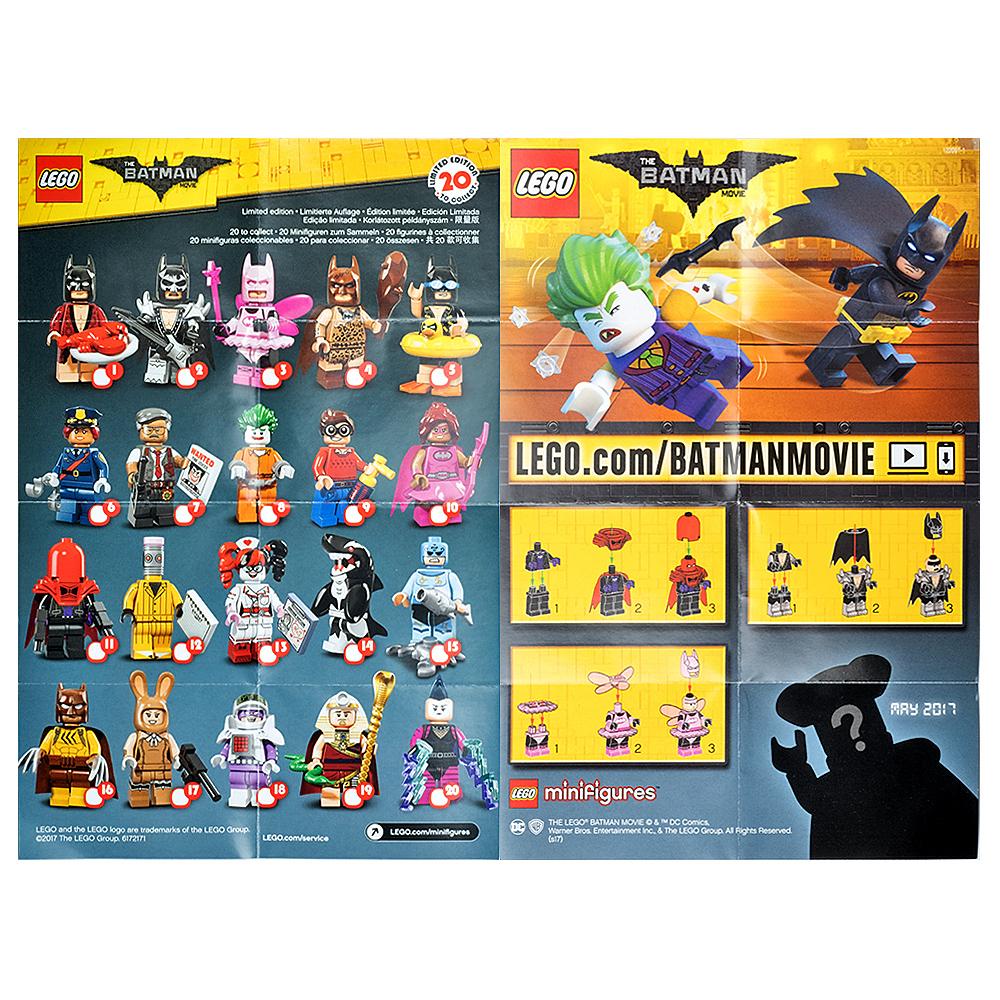 LEGO - Batman Movie Collectable Leaflet