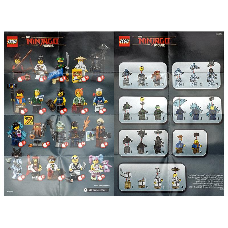 LEGO - Ninjago Movie Collectable Leaflet