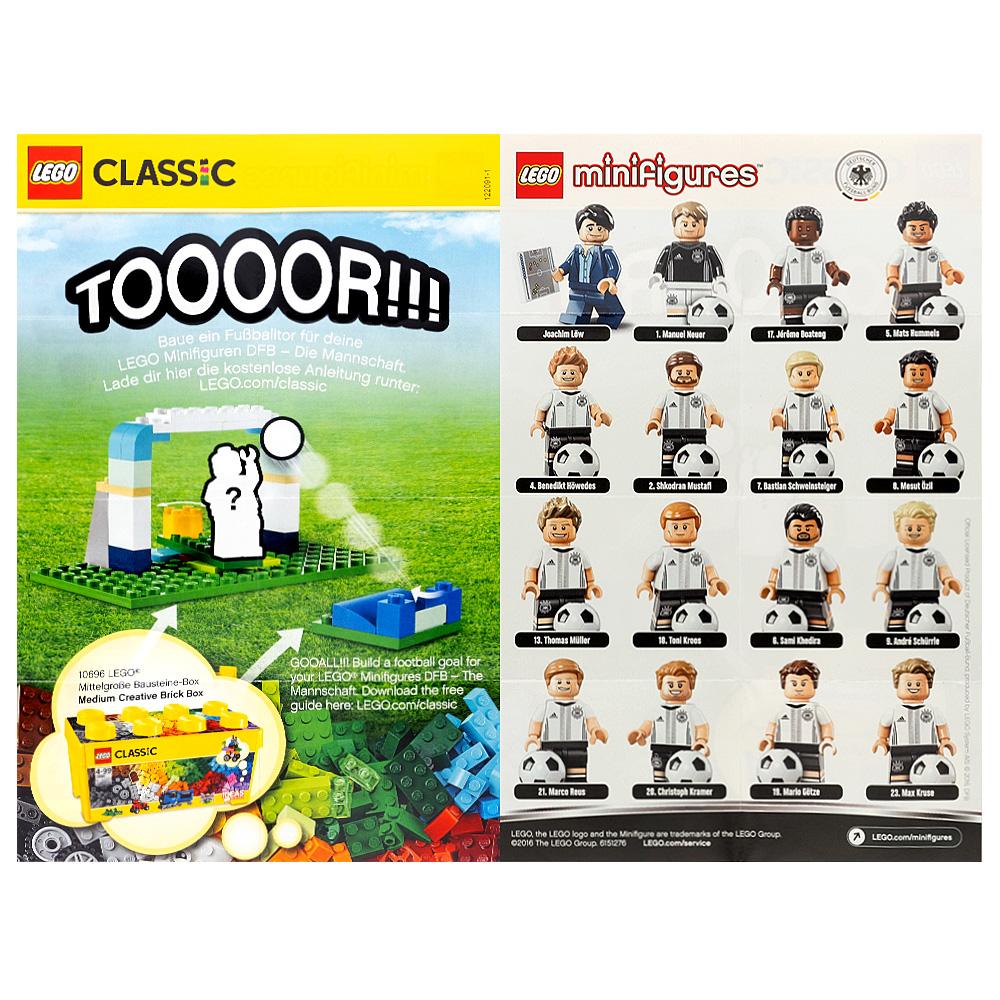 LEGO German Football Team Collectable Leaflet