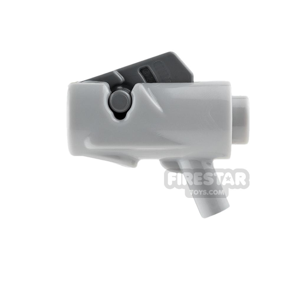 LEGO Gun - Star Wars Firing Blaster - Light Blueish Gray