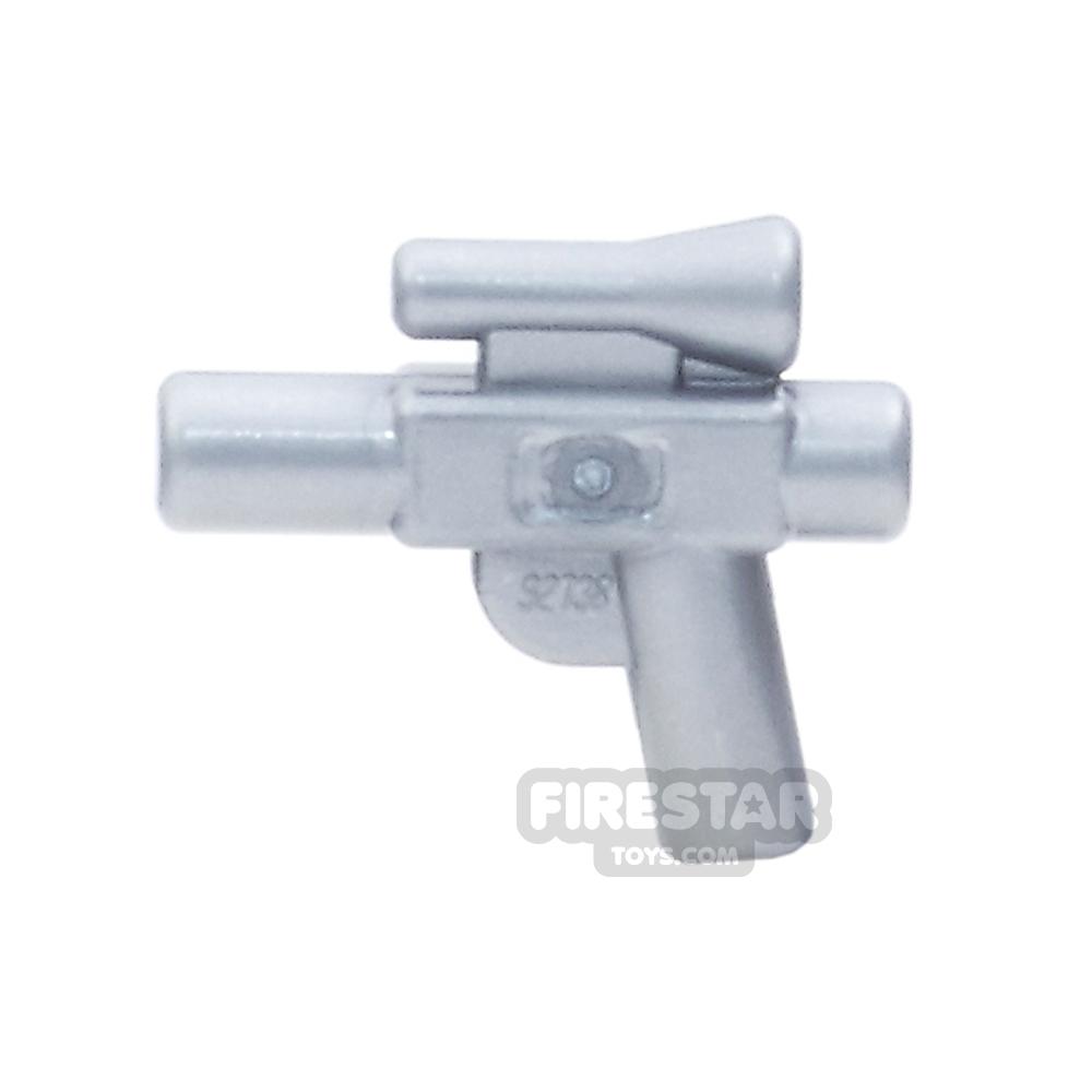 LEGO Gun - Small Blaster - Flat Silver