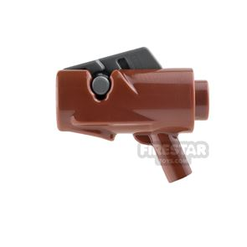 LEGO Gun - Star Wars Firing Blaster - Reddish Brown