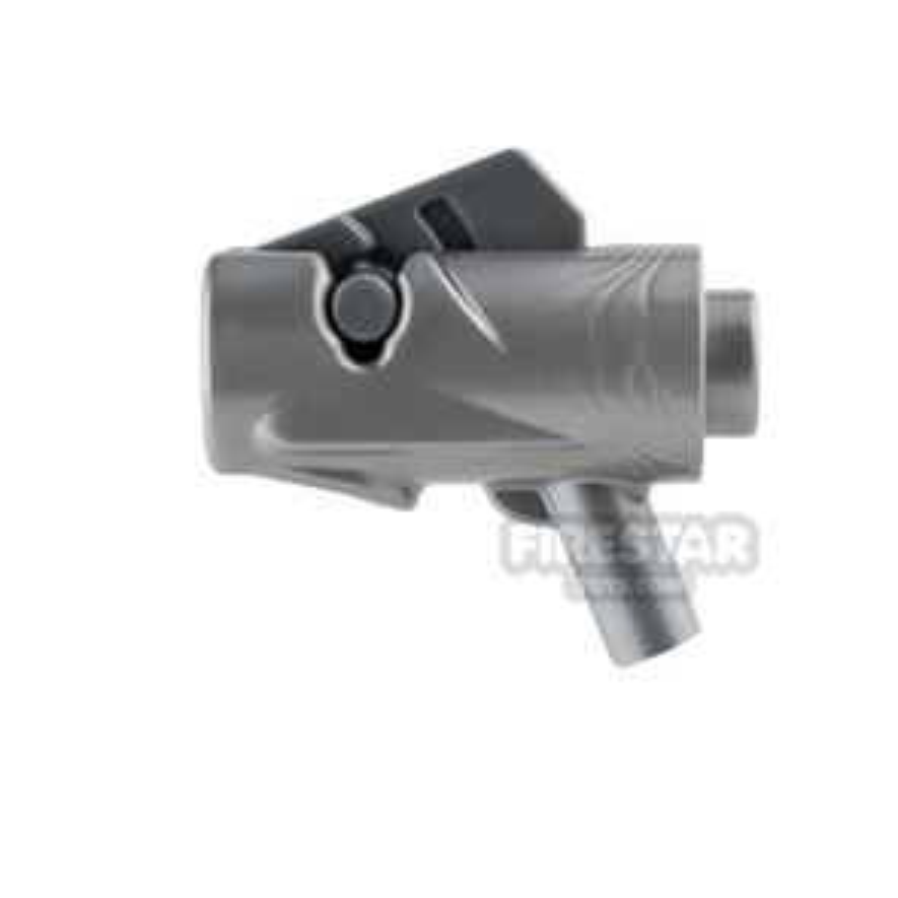 LEGO Gun - Star Wars Firing Blaster - Flat Silver