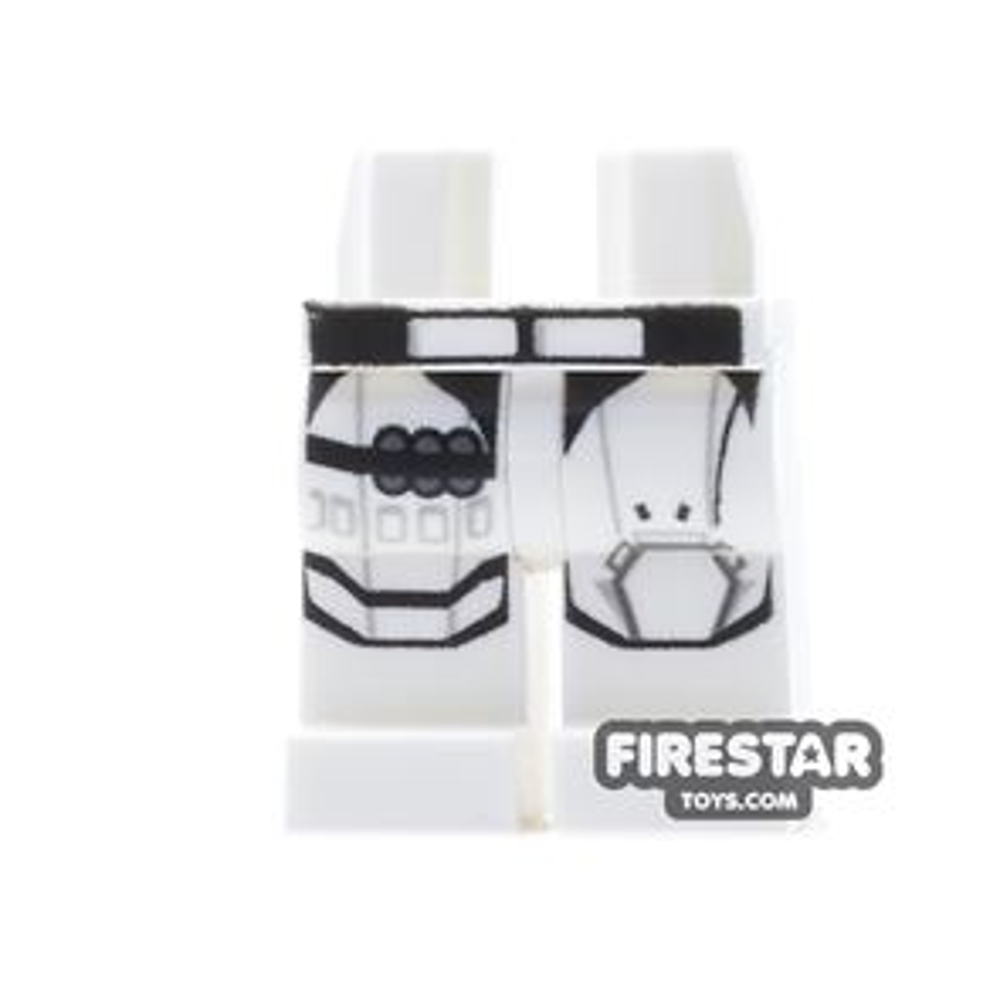 LEGO Mini Figure Legs - First Order Stormtrooper - Bullet Belt
