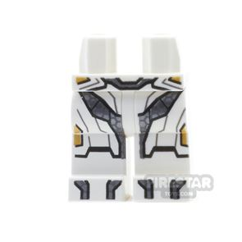 LEGO Mini Figure Legs - Space Iron Man