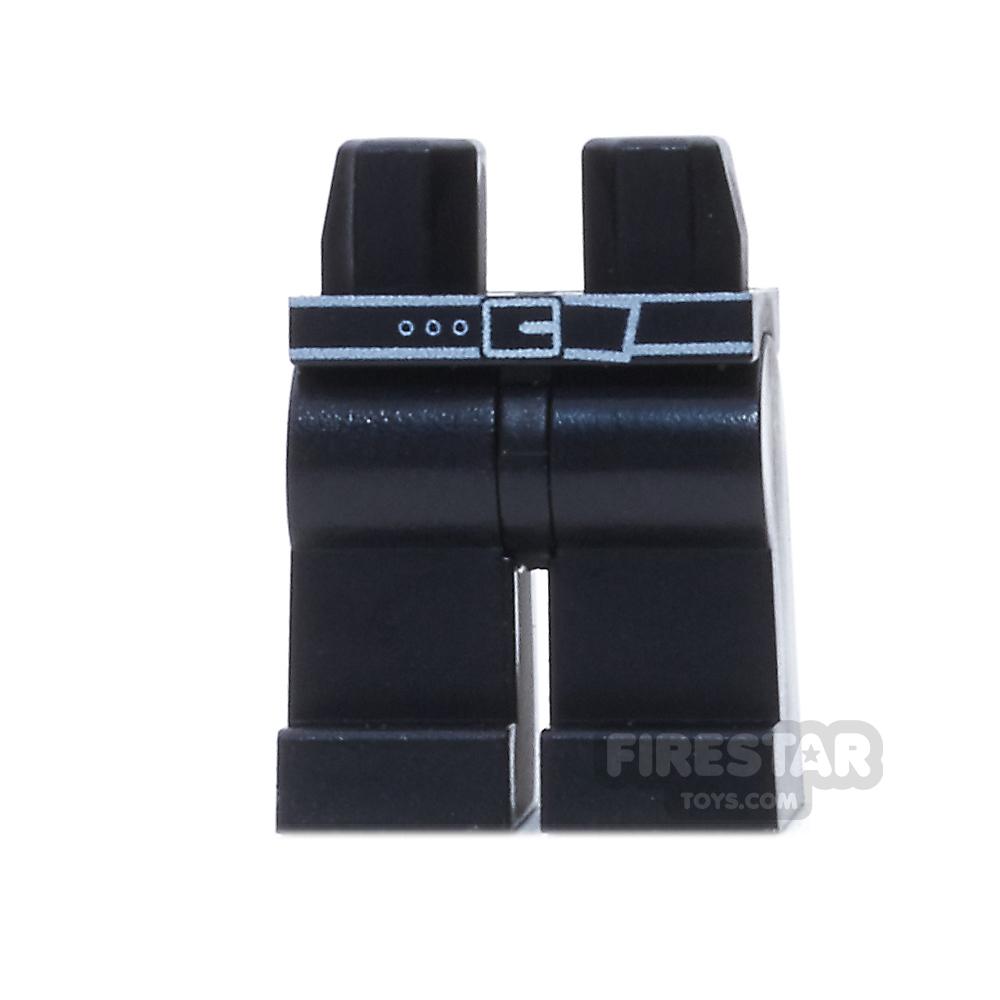 Custom Design Legs - Black With Belt
