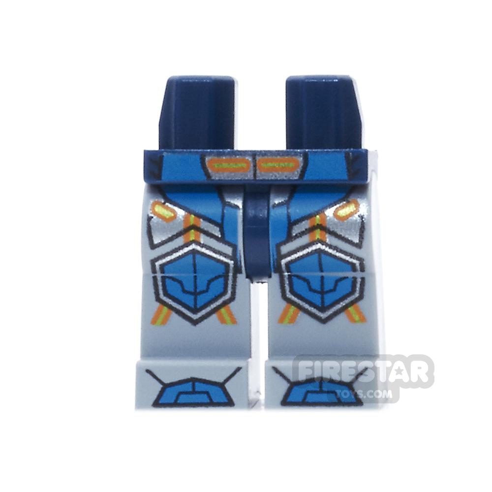 LEGO Minifigure Legs Blue Armour