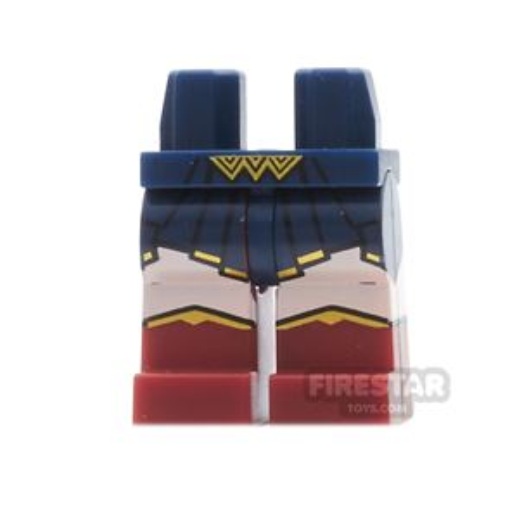 LEGO Mini Figure Legs - Wonder Woman - Gold Buckle