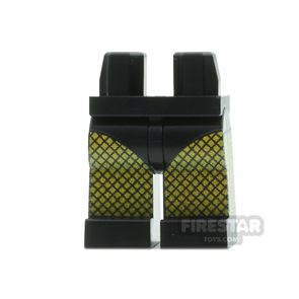 Custom Design Legs - Fishnet Tights - Black