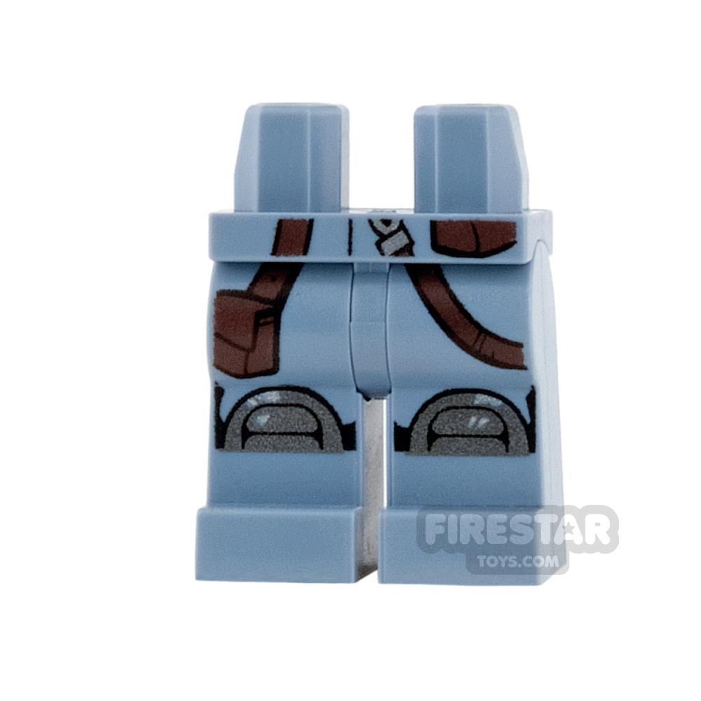 LEGO Mini Figure Legs - Straps and Knee Pads