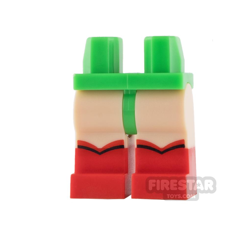 LEGO Mini Figure Legs - Robin - Red Boots