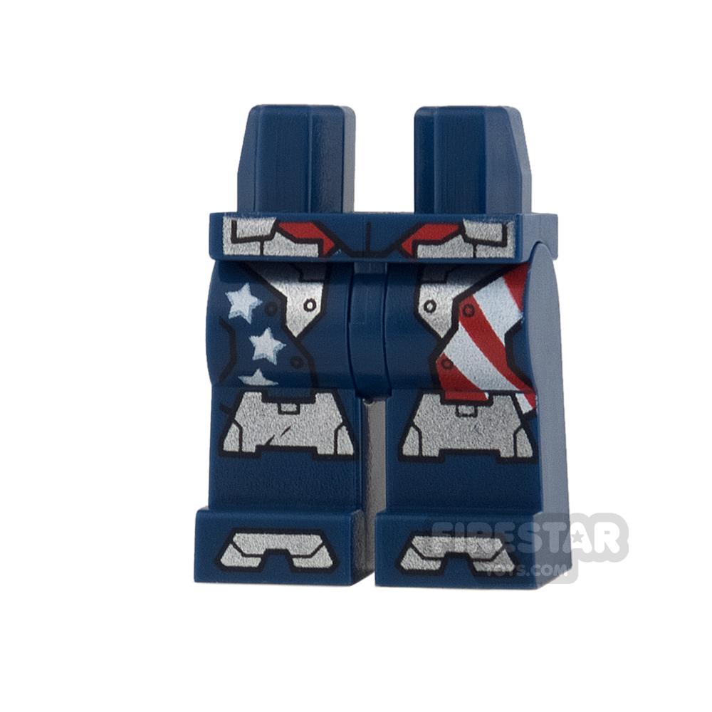 LEGO Mini Figure Legs - Justin Hammer