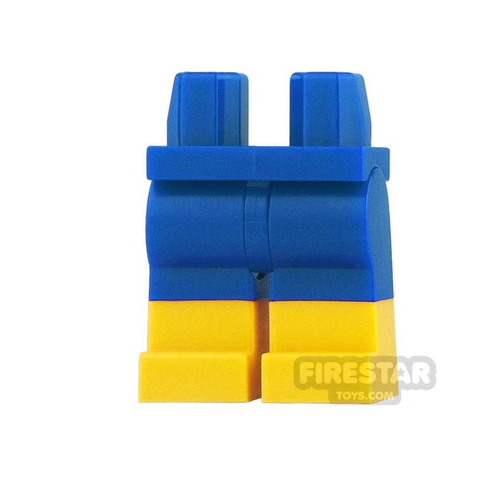 LEGO Mini Figure Legs - Blue Shorts