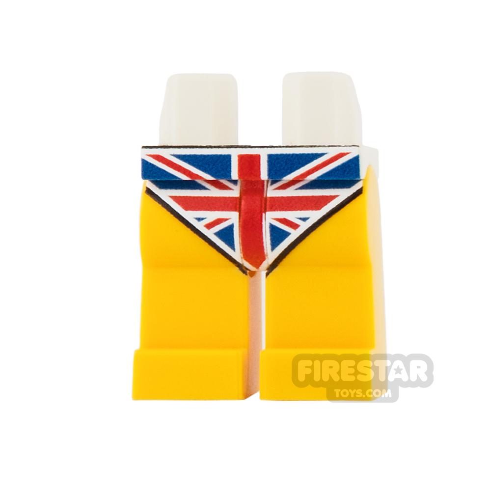 Custom Design Legs - Union Jack Underpants