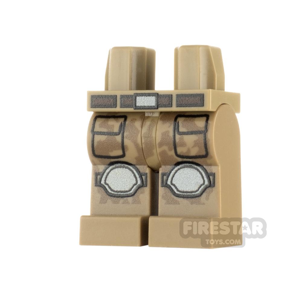Custom Design Legs - Desert Trooper Camo