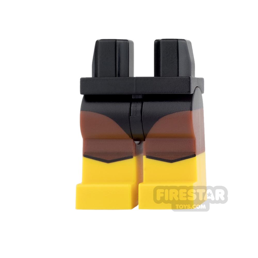LEGO Mini Figure Legs - Black Vulcan