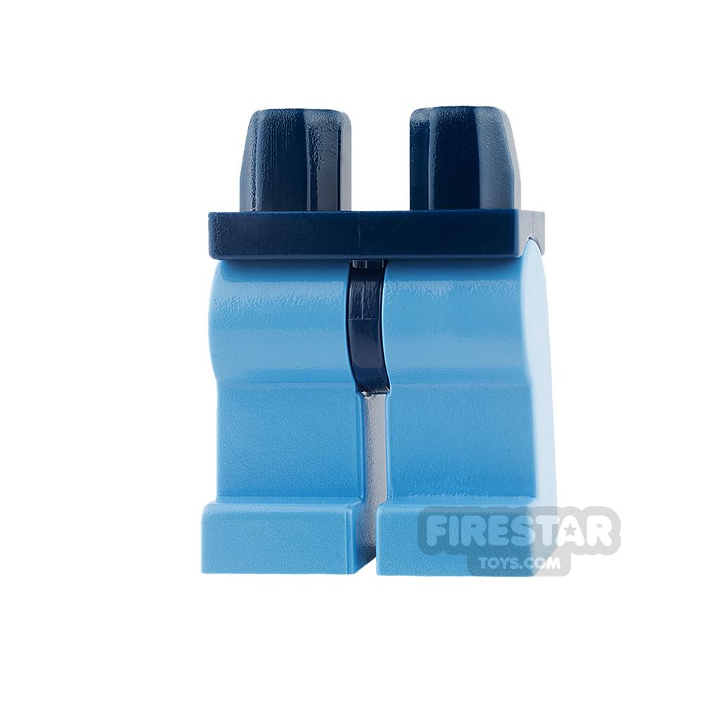LEGO Minifigure Legs - Hips DARK BLUE - Legs