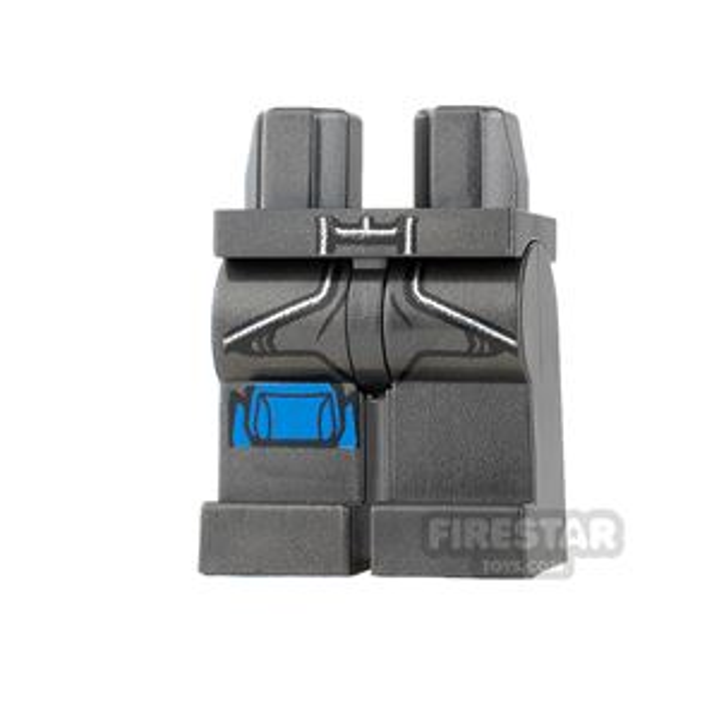 LEGO Mini Figure Legs - Thor - Breast Plate Edge and Knee Pad