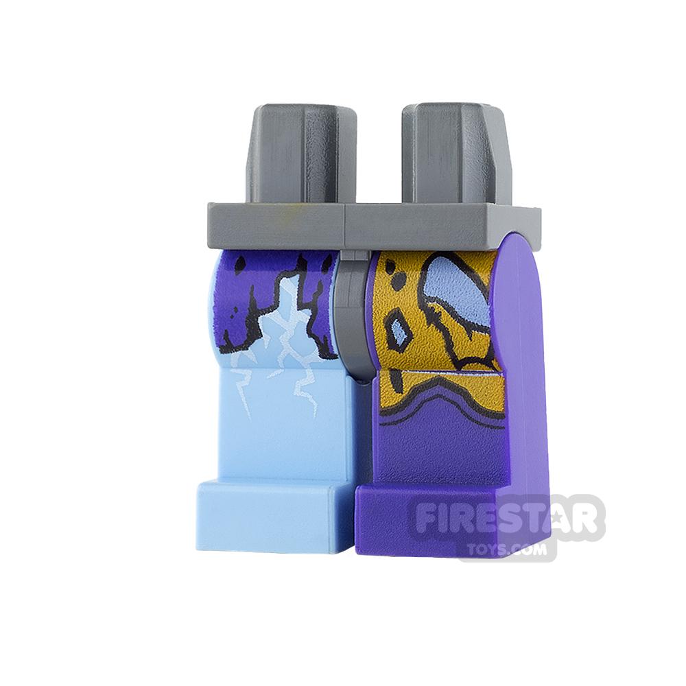 LEGO Mini Figure Legs - Jestro - Electrified
