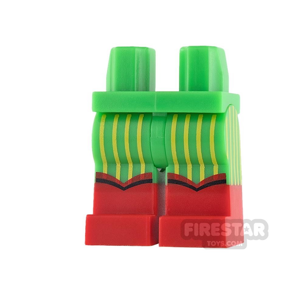 LEGO Mini Figure Legs - Batman - Reggae Suit