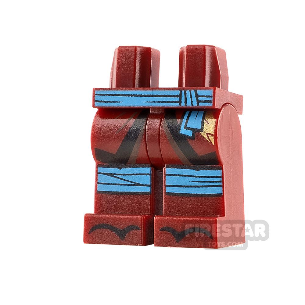 LEGO Minifigure Legs Dark Azure Sash