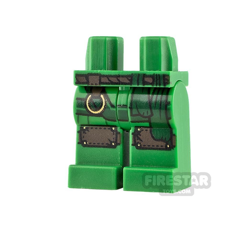 LEGO Minifigure Legs Knee Pads and Sash