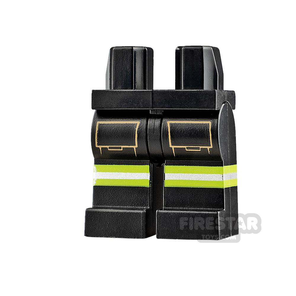 LEGO Minifigure Legs Firefighter Suit