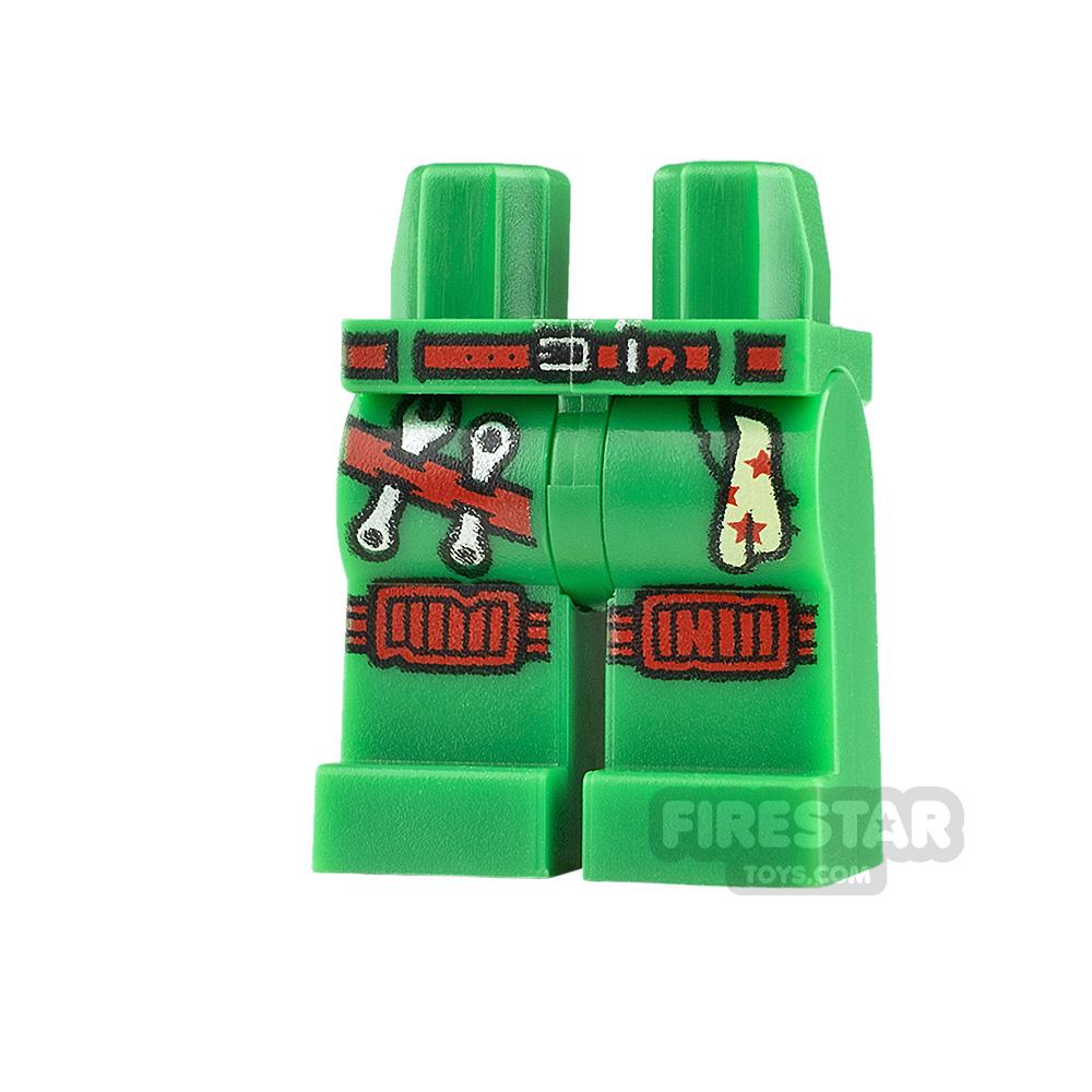 LEGO Minifigure Legs Knee Pads and Tool Belt