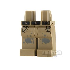 LEGO Minifigure Jeans with Splotches