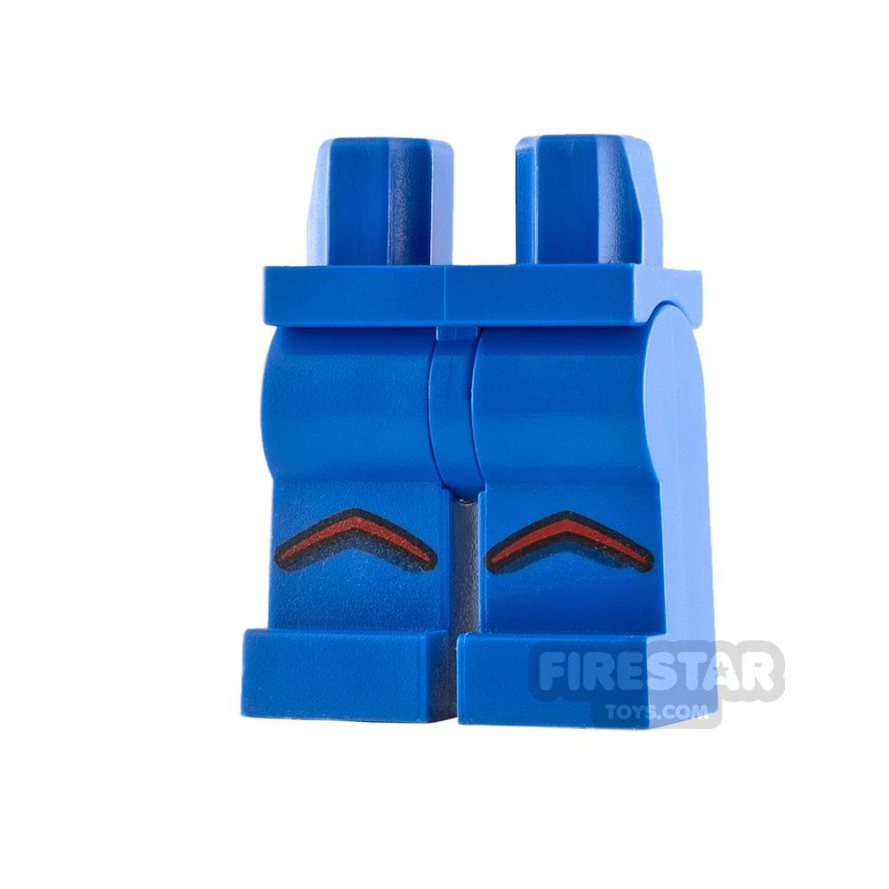 LEGO Minifigure Legs Red Chevrons