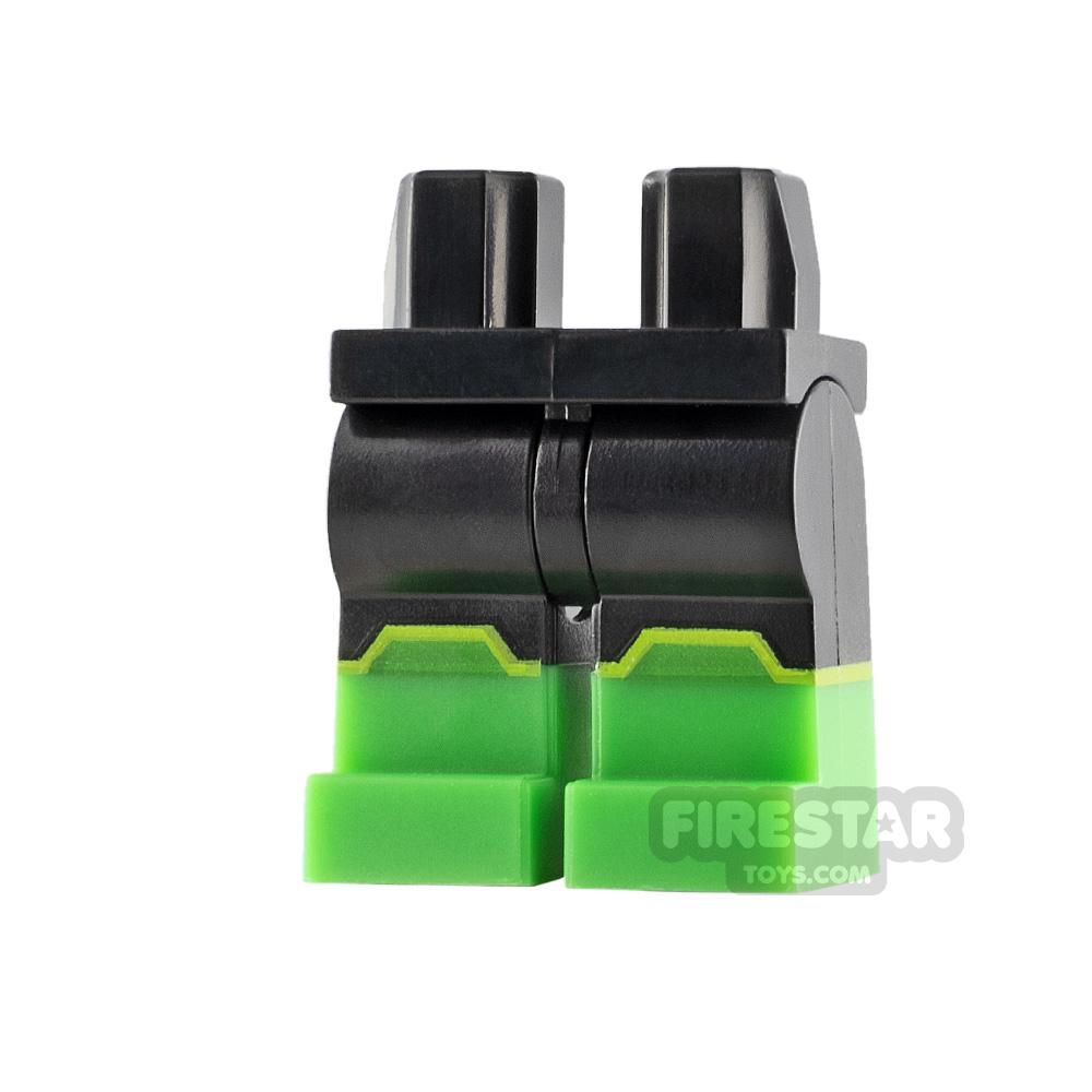 LEGO Minifigure Legs Bright Green Boots