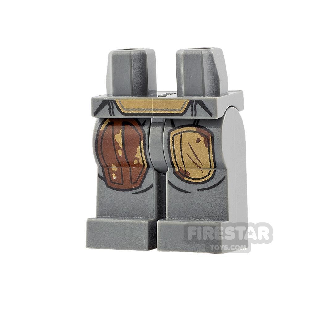 LEGO Minifigure Legs The Mandalorian Durasteel Armour