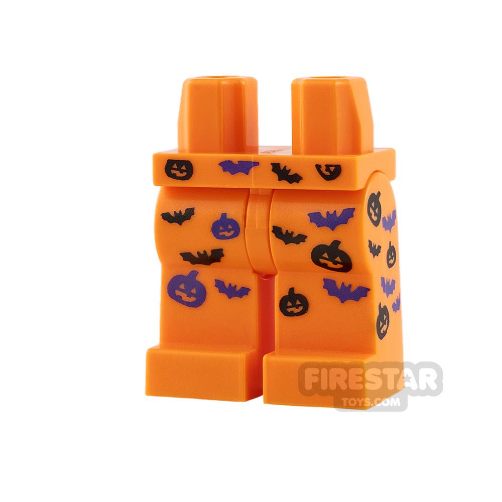 LEGO Minifigure Legs Pumpkins and Bats