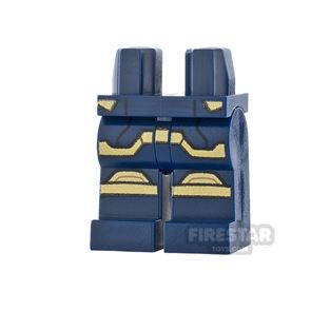 LEGO Minifigure Legs Gold Armour