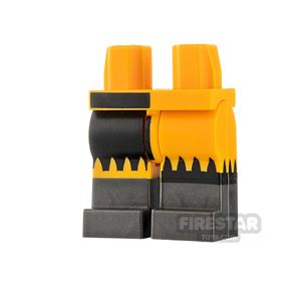 LEGO Minifigure Legs Gray Boots