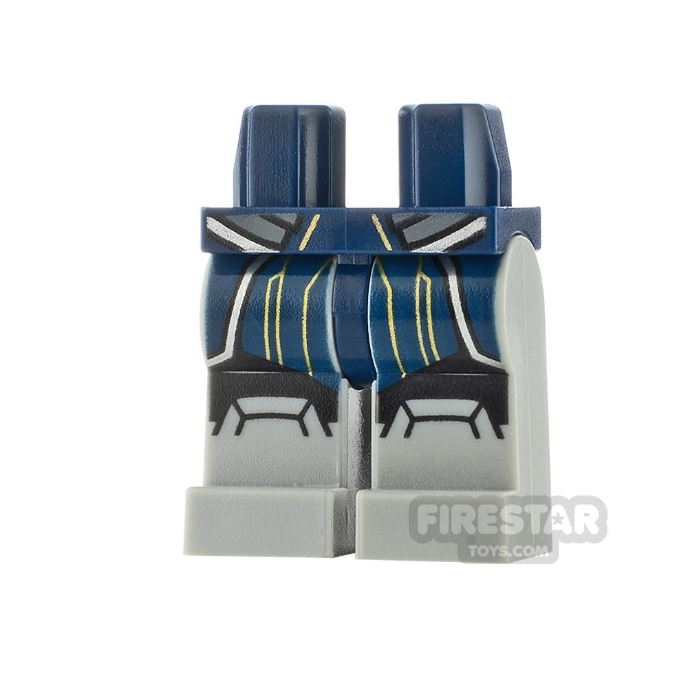 LEGO Minifigure Legs SW Ahsoka Tano Dark Blue Suit