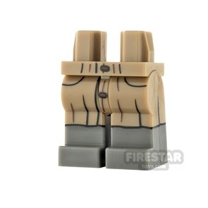 LEGO Minifigure Legs Closed Jacket Tails over Trousers