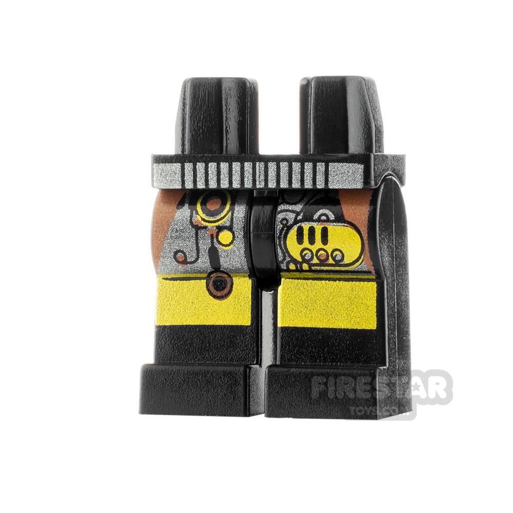 LEGO Minifigure Legs Circuitry and Belt