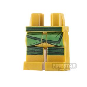 LEGO Minifigure Legs Knee Wrappings and Belt